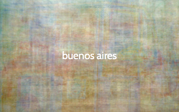 The color of Buenosaires