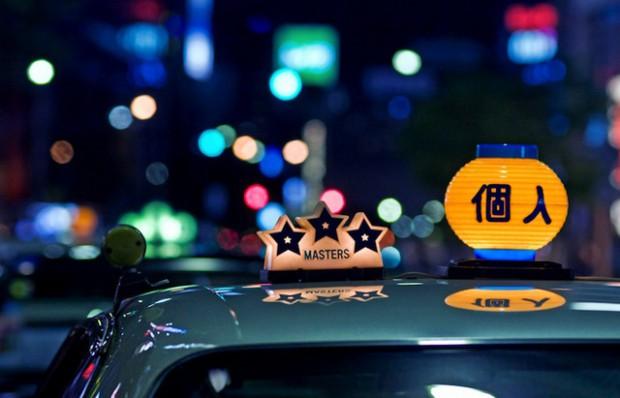 タクシー社名表示灯