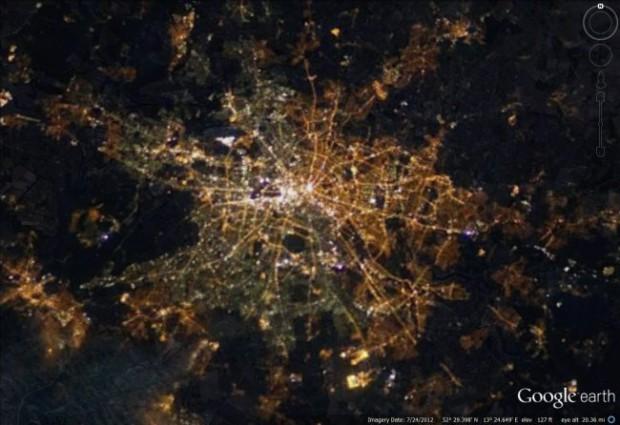 ベルリン夜景