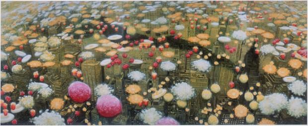大岩オスカール《ガーデニング(マンハッタン)》2002年