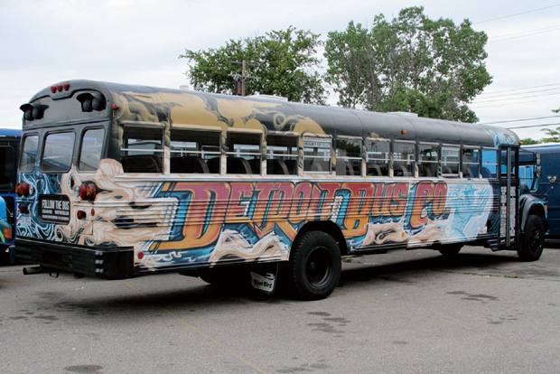 Detroit bus company