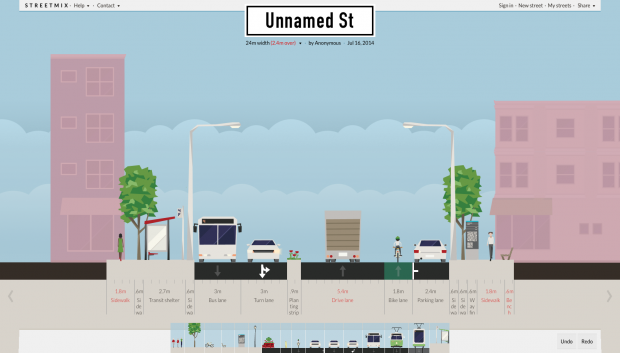 Unnamed St – Streetmix
